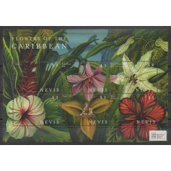 Nevis - 2000 - Nb 1461/1466 - Flowers