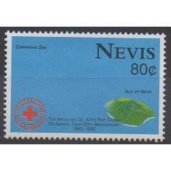 Nevis - 1992 - No 691 - Santé ou Croix-Rouge