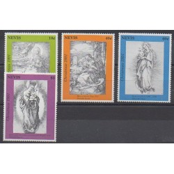 Nevis - 1991 - Nb 614/617 - Christmas