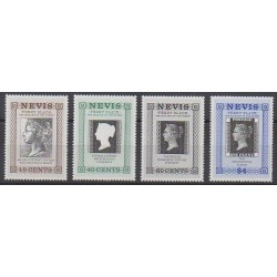 Nevis - 1990 - Nb 525/528 - Philately