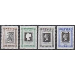 Nevis - 1990 - No 525/528 - Philatélie