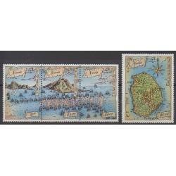 Nevis - 1989 - No 505/508 - Histoire militaire - Philatélie