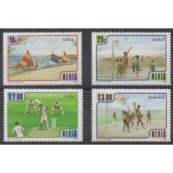 Nevis - 1986 - Nb 449/452 - Various sports