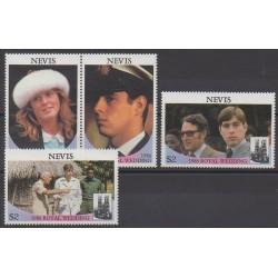 Nevis - 1986 - No 403/406 - Royauté - Principauté