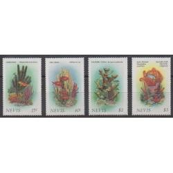 Nevis - 1986 - No 419/422 - Animaux marins