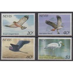 Nevis - 1985 - No 267/270 - Oiseaux