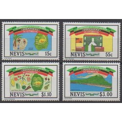 Nevis - 1984 - No 201/204 - Histoire