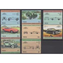 Nevis - 1984 - No 205/212 - Voitures