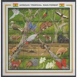 Ghana - 1990 - No 1125/1144 - Animaux