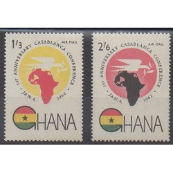 Ghana - 1962 - No PA9/PA10