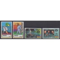 Ghana - 1970 - No 374/377ND - Espace