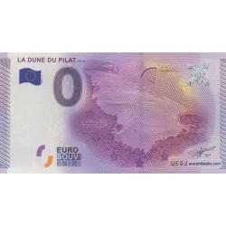 Billet souvenir - La dune du Pilat - 117m - 2015