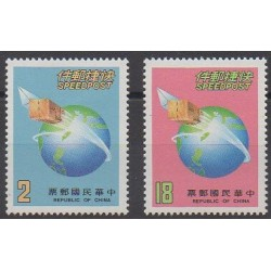 Formosa (Taiwan) - 1987 - Nb 1674/1675 - Postal Service