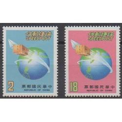 Formose (Taïwan) - 1987 - No 1674/1675 - Service postal