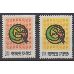 Formosa (Taiwan) - 1987 - Nb 1723/1724 - Horoscope