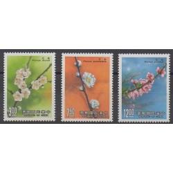 Formose (Taïwan) - 1988 - No 1728/1730 - Fleurs