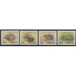 Formose (Taïwan) - 1988 - No 1751/1754 - Reptiles