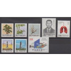 Formosa (Taiwan) - 1989 - Nb 1789/1796