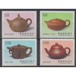 Formosa (Taiwan) - 1989 - Nb 1807/1810 - Craft