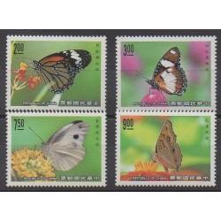 Formose (Taïwan) - 1990 - No 1836/1839 - Insectes