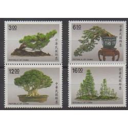 Formose (Taïwan) - 1990 - No 1850/1853 - Arbres