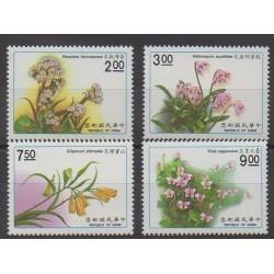 Formosa (Taiwan) - 1991 - Nb 1892/1895 - Flowers