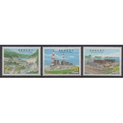 Formose (Taïwan) - 1986 - No 1617/1619 - Sciences et Techniques