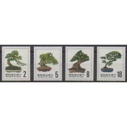 Formosa (Taiwan) - 1985 - Nb 1579/1582 - Trees