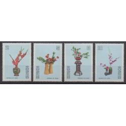 Formosa (Taiwan) - 1986 - Nb 1604/1607 - Flowers