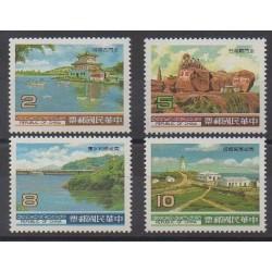 Formosa (Taiwan) - 1985 - Nb 1542/1545 - Sights
