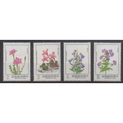 Formose (Taïwan) - 1984 - No 1520/1523 - Fleurs