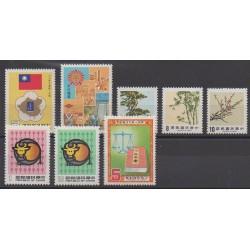 Formosa (Taiwan) - 1984 - Nb 1534/1541