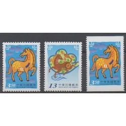 Formose (Taïwan) - 2001 - No 2630/2631 - 2630a - Horoscope