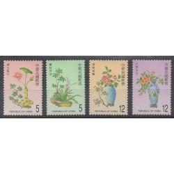 Formose (Taïwan) - 2002 - No 2645/2648 - Fleurs