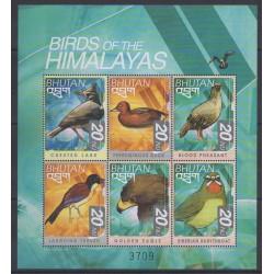 Bhoutan - 1999 - No 1476AG/1476AM - Oiseaux