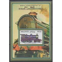 Maldives - 2004 - No BF551 - Chemins de fer