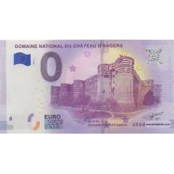 Billet souvenir - Domaine national du château d'Angers - 2018-1