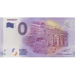 Billet souvenir - Allemagne - 2018-3-DE