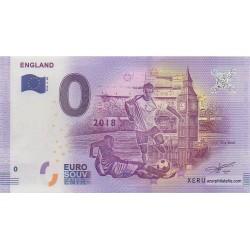Billet souvenir - Angleterre - 2018-4-EN