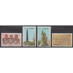 Zimbabwe - 1984 - Nb 67/70 - Various Historics Themes