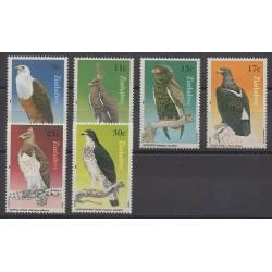Zimbabwe - 1984 - No 71/76 - Oiseaux