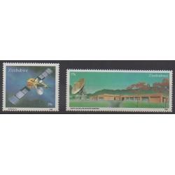 Zimbabwe - 1985 - No 81/82 - Télécommunications