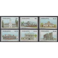 Zimbabwe - 1994 - Nb 294/299 - Monuments