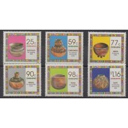 Zimbabwe - 1993 - No 278/283 - Artisanat ou métiers