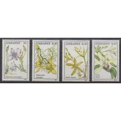 Zimbabwe - 1993 - Nb 284/287 - Orchids