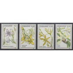 Zimbabwe - 1993 - No 284/287 - Orchidées