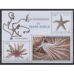 French Southern and Antarctic Lands - Blocks and sheets - 2018 - Nb F865 - Sea animals