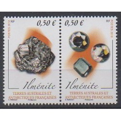 French Southern and Antarctic Territories - Post - 2018 - Nb 845/846 - Minerals - Gems