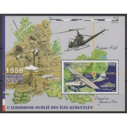 French Southern and Antarctic Lands - Blocks and sheets - 2018 - Nb F863 - Planes