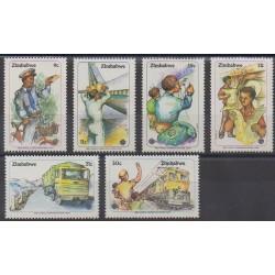 Zimbabwe - 1983 - No 54/59